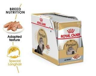 12 pouches Royal Canin Persian