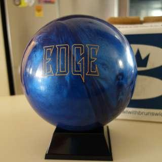 NEW Undrilled 13lb Brunswick Edge Pearl Reactive Bowling Ball