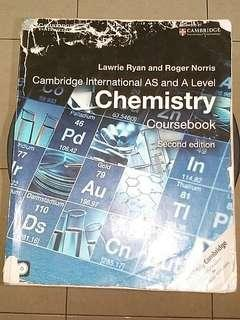 Chemistry Coursebook Cambridge International AS & A Level Second Edition