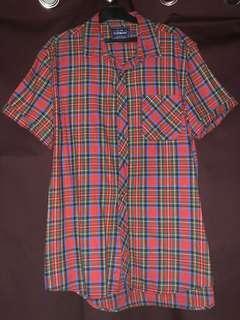 Topman short sleeve flannel shirt