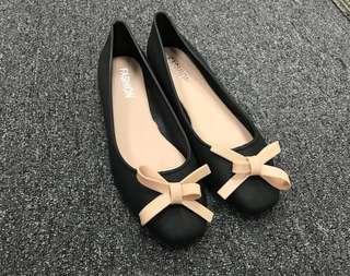 全新蝴蝶結🎀雨鞋 水鞋 膠鞋 ribbon shoes