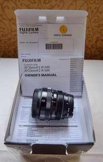 Lensa Fujinon XF 35mm