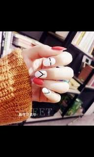 🚚 Instock nail stickers