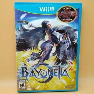 (Free postage) Bayonetta 1 and 2 for Wii U (WiiU) 2 Dics