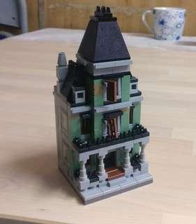 Lego mini module haunted house (自家制)