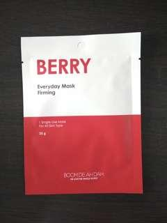 Boom De Ah Dah Berry Korean Sheet Mask