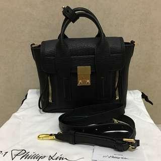 Phillip lim mini pashli black gold hardware