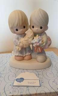 🚚 Precious Moments Figurine - Blessed with a Miracle
