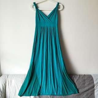 🚚 Turquoise Evening Dress