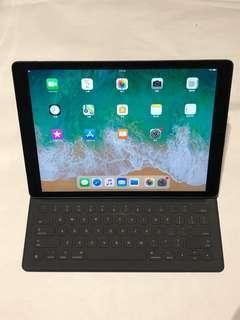 """⚡️iPad Pro 1 Gen 代  12.9 """" 4G LTE 入 SIM  128GB  *96%  送 Apple Smart Keyboard Read Description 功能一切正常 100% Functional 7天退貨"""