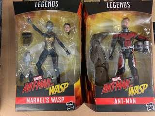 Hasbro marvel legends ant man and the wasp