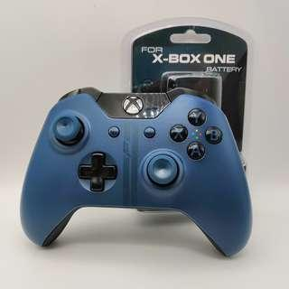 Xbox One Limited Edition Forza 6 Wireless Controller with a FREE NEW Rechargeable Battery