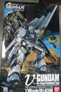 MG 1/100 逆襲的夏 v Nu Gundam Rx-93