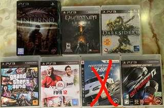 🚚 PS3 Games