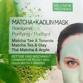 Garnier SkinActive Macha and Kaolin Clay Mask (Purifying)