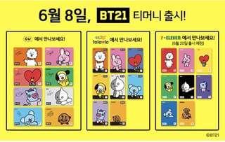 #BTS x BT21 T-MONEY CARD
