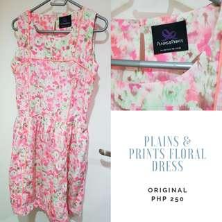#powerpinay Plains and Prints Floral Dress