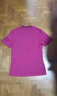 Lululemon athletica cotton tee mens S