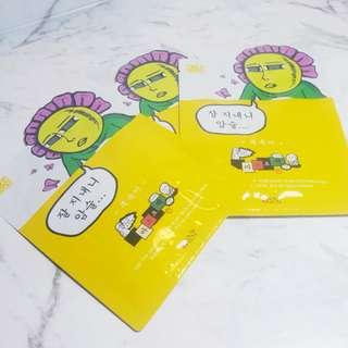 SNP Korean Soothing Sheet Mask
