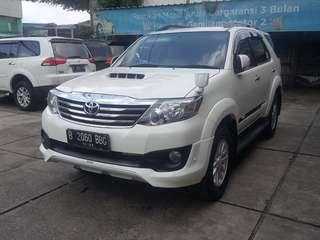 Toyota Fortuner g trd at 2013