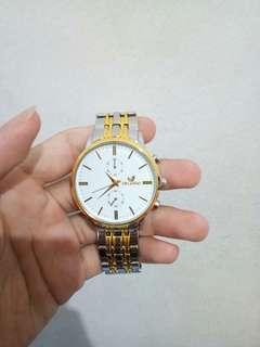 [ DIJUAL CEPAT ] Jam tangan Orlando, White Gold, sscondhand