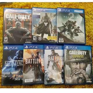 FPS Gamers galore PS4 Games