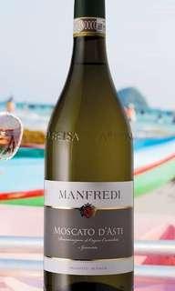 🇮🇹意大利 Manfredi Moscato d'asti   <<一飲愛上的汽泡酒>>