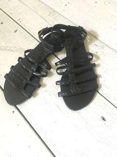 Never been worn sandals by Pedder Red