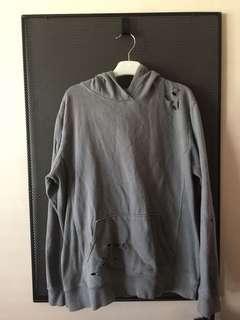 Ripped jumper