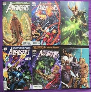 Avengers #7-12 (Jason Aaron) - Marvel Comics