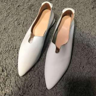 真皮尖頭鞋#230