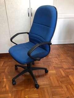 🚚 Study chair (Blue)