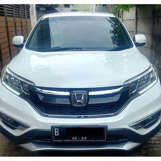 Honda Crv Cr-V 2.0 2015 Putih Facelift New Model 2015