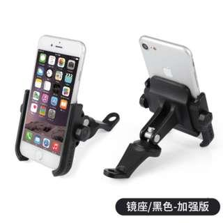 【ready stock】Motorcycle Mobile Phone Holder 360 Rotation
