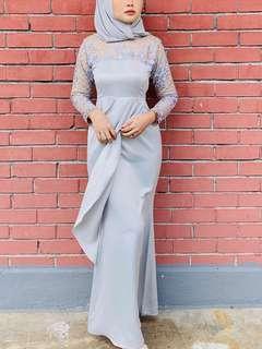 rent grey dress