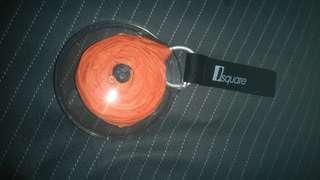 捲摺購物袋(橘色
