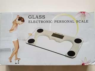 Glass Electronic Personal Scale - Sale, Brand New