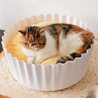 PIDAN studio Egg Tart Pet bed