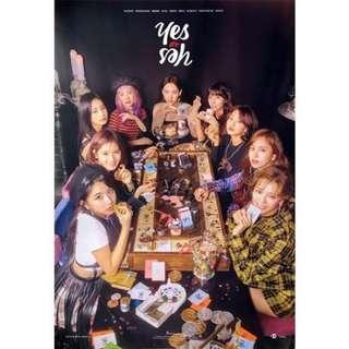 TWICE YES OR YES POSTED
