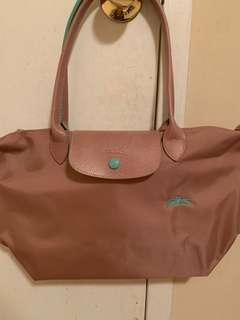 Price Drop! New! Longchamp Le pliage club Small pink colour l