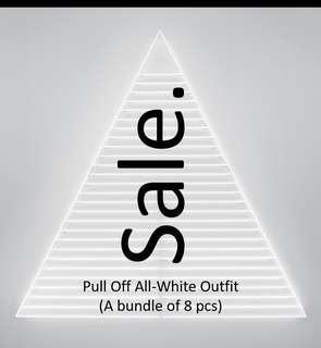 Bundle of All White (8 pieces) #SHERO