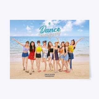 TWICE DANCE THE NIGHT AWAY POSTER