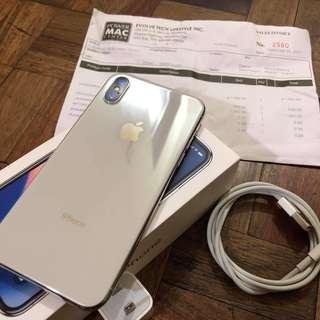 Iphone X 256gb Silver Factory Unlocked