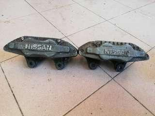 4pot Brake Impul Nissan Latio Grandlivina Almera saga iswara perdana B13 B14 Y10 perdana Satria gti neo
