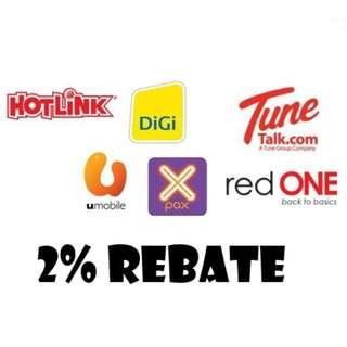 Mobile Prepaid Topup - 20% Off