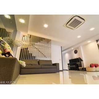 3 Storey Inter Terrace at Jalan Taman