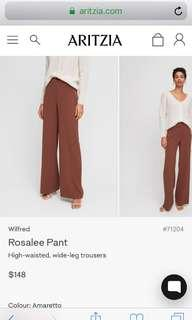 ISO - looking for Rosalee pants and a # of other Aritzia items