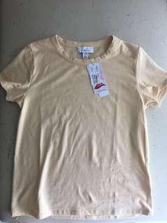 🚚 Topshop Lycra tee too t shirt new. Uk10 us6