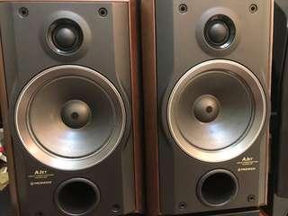 Pioneer 日本造書架喇叭speaker