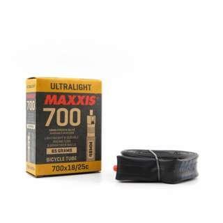 💯🆕Maxxis Ultralight Bicycle Tube 700x18-25c Presta Valve SV 60mm
